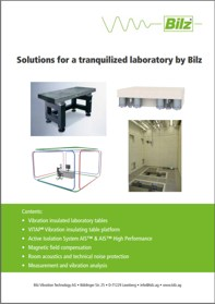 Title page Solutions for a tranquilized laboratory