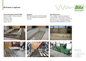 Foundation isolation with insulation plate sets