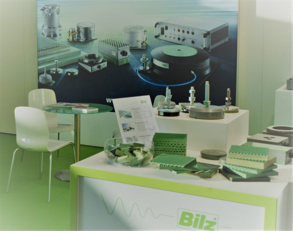 Messestand Bilz Vibration Technology AG